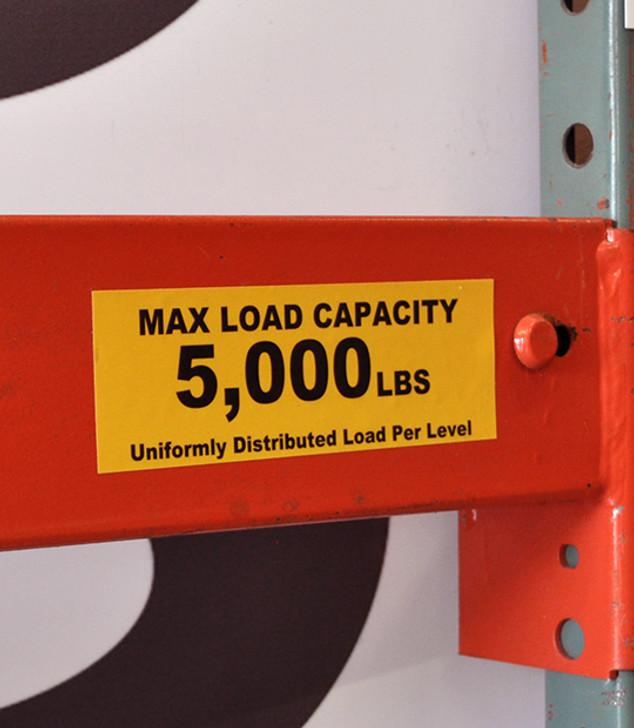 Adhesive Load Label - T3 2x6