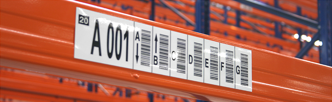 Multi-Level Rack Labels