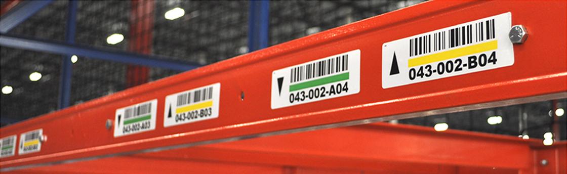 Structural Rack Labels