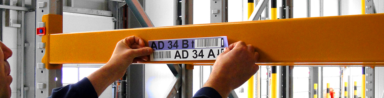 Rack Label Installations