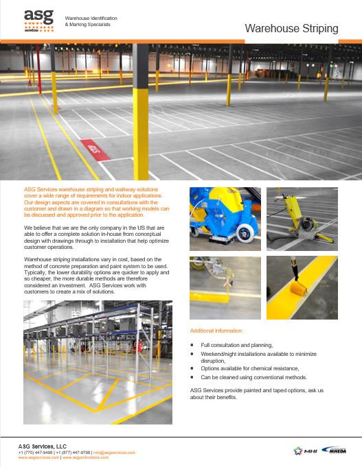 Warehouse Striping