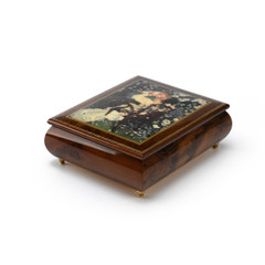 Handcrafted Ercolano Music Box Featuring Mothers Love by Sandra Kuck