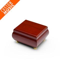 Alluring Hi Gloss Rosewood Custom USB Sound Module Music Box