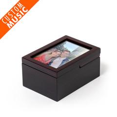Ultra-Modern Fold-Up 6 X 4 Photo Frame Custom USB Sound Module Any Song Music Box