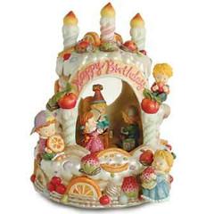 Birthday Cake Musical Water / Snow Globe By Twinkle, Inc