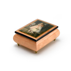 Handcrafted Ercolano Music Box Featuring Encore by Sandra Kuck