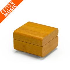 Modern Designed Bamboo USB Sound Module Music Jewelry Box