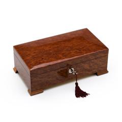 Stunning Vavona Wood 22 Note Classic Italian Style Musical Valet / Watch Box
