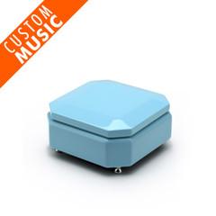 Breathtaking Tiffany Blue Custom USB Module Music Box