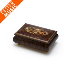 Custom Sound Module Digital Matte Music Theme Inlay Musical Jewelry Box