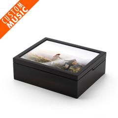 10 x 8 Custom Sound Module Spacious Photo Frame Music Jewelry Box