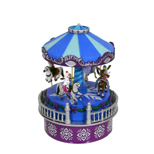 Frozen Mini Animated Carousel by Mr Christmas