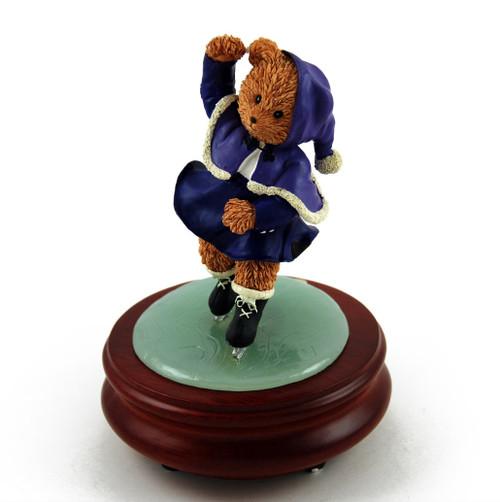 Thread Bears - Ice Skater Threadbear Musical Figurine