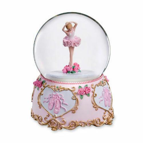 Ballerina In Pose Water globe By San Francisco Music Box Co