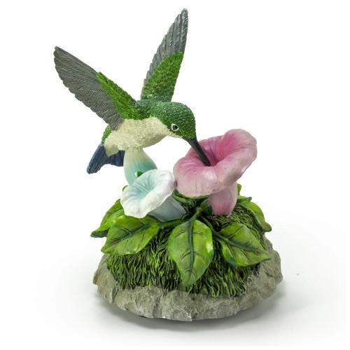 Astonishing Life-Like Hummingbird Musical Figurine