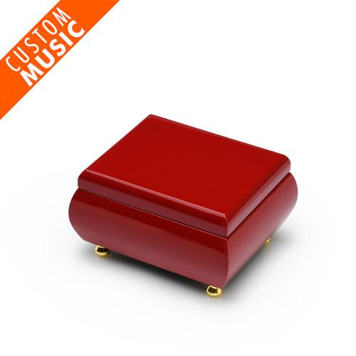Gorgeous Venetian Red USB Sound Module Music Jewelry Box