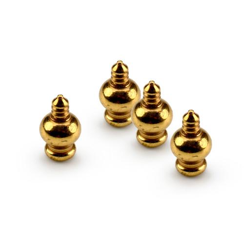 Brass Pegs Set of 4 - DIY Music Box Feet/Pegs