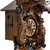 Traditional Grand Carved Black Forest 8 Day Mechanical Hunters Themed Cuckoo Clock