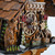 Beautiful Carved Fir Trees and Black Forest Chalet with Bears 1 Day Mechanical Cuckoo Clock