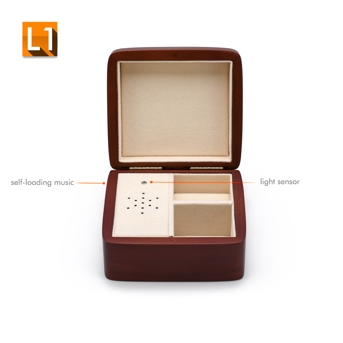 Simple Classy Wooden Custom USB Module Music Box - Any Song SUPER SALE