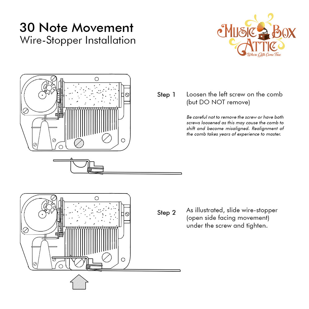 30 Note Mechanical Movement