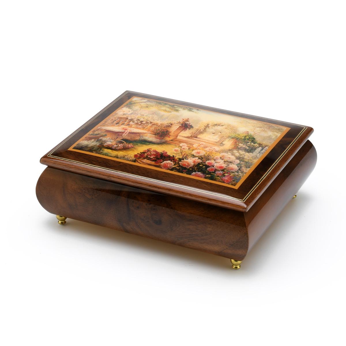 Lisas Garden Beautiful Art Box from Ercolano