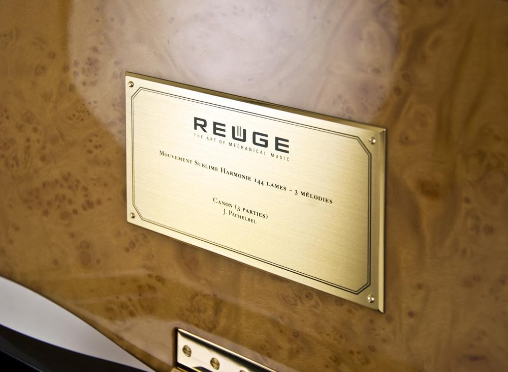 Exquisite 144 Note Sublime Harmony Reuge Music Box - Primavera