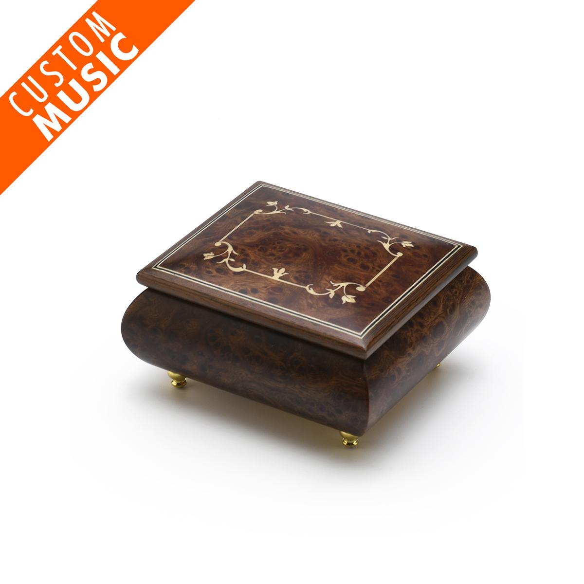 Custom Sound Module Digital Handcrafted Classic Inlay Music Box