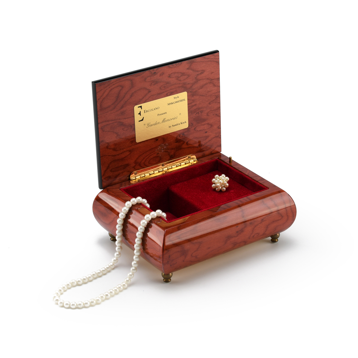 Radiant Mother Ercolano Music Box - A Time Together by Sandra Kuck