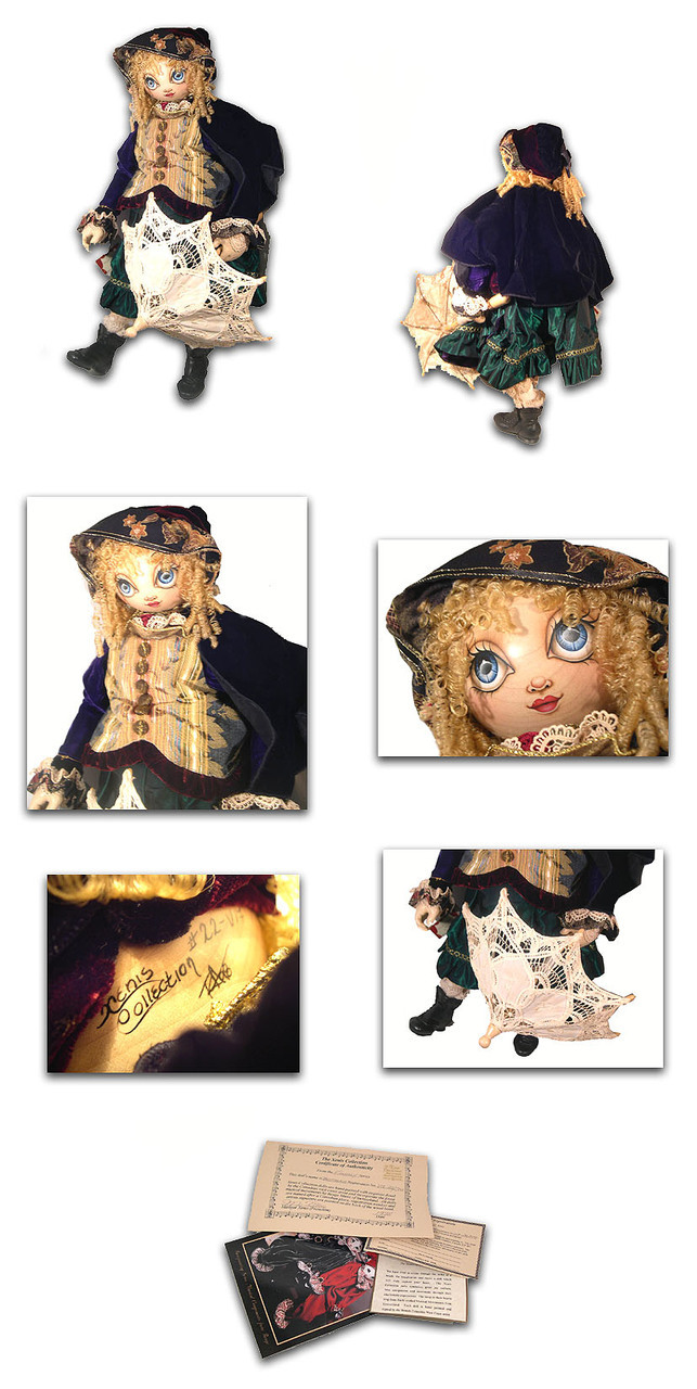 Xenis Rare Limited Edition Brittania Music Doll
