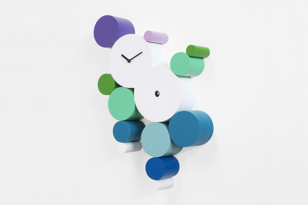 Modern, Colorful and Playful Jellies Cuckoo Clock - Cucuball Cold by Progetti