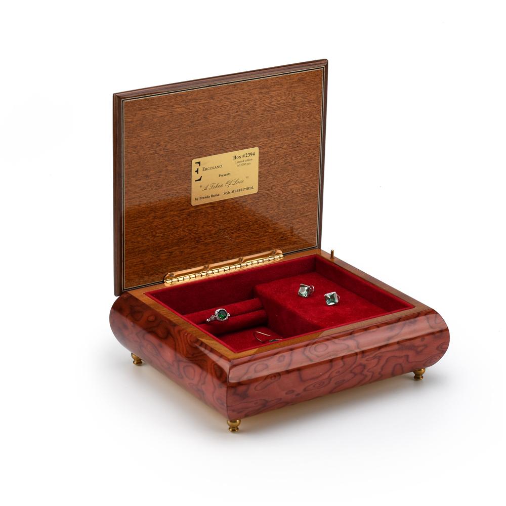 A Token of Love Ercolano Musical Jewelry Box