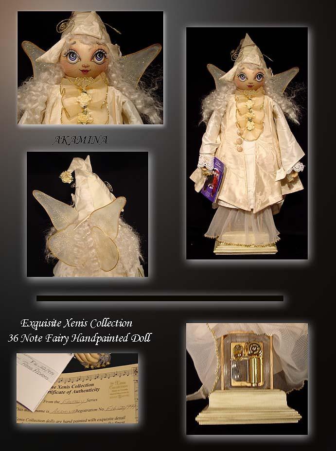 Fantasy/Fiction Series Akamina The Fairy Doll