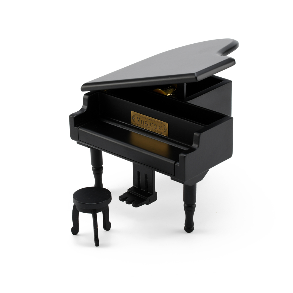 Gorgeous Baby Grand Musical Piano with Bench