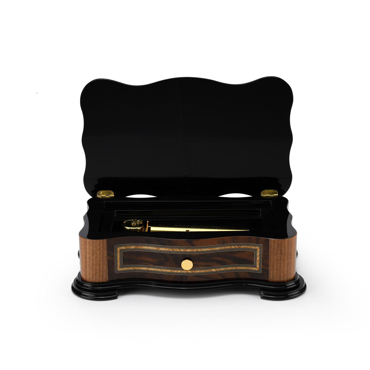 Handcrafted Italian Classic Style 72 Note Swiss Grand Music Box