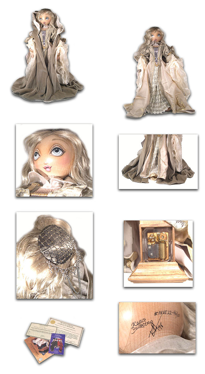 Winter Fantasy Series Rare Xenis Musical Doll Exclusive, Limited Edition