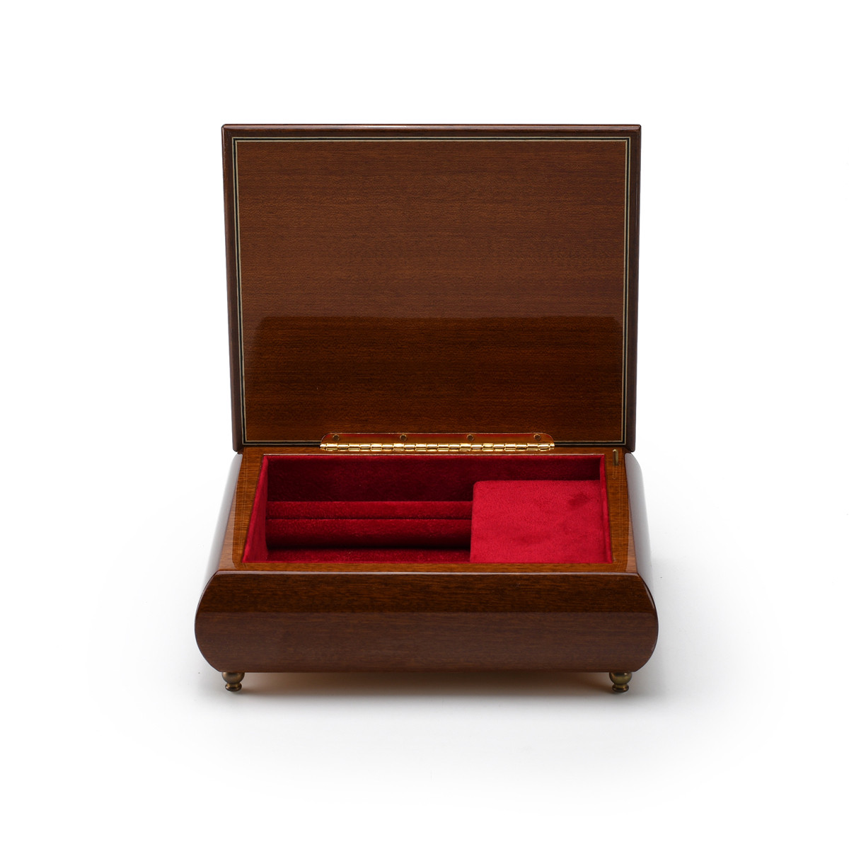 Handcrafted Italian Ercolano Musical Jewelry Box -Proud Moments by MI Hummel