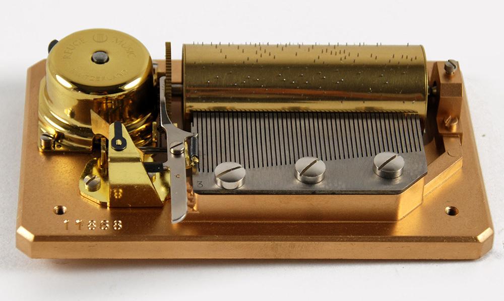 50 Note Swiss Mechanical Movement