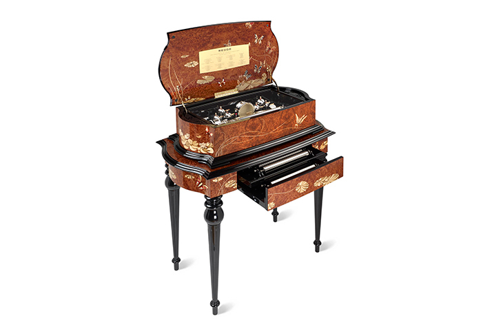 BARI Reuge Music Box Grand Cartel Inlaid 32.144 Movement, Limited Edition of 12 Ever