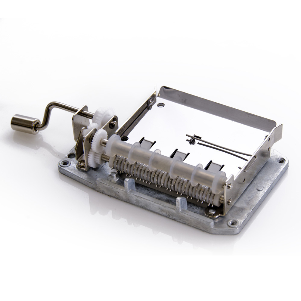 DIY Musical 30 note Hand Cranked Movement