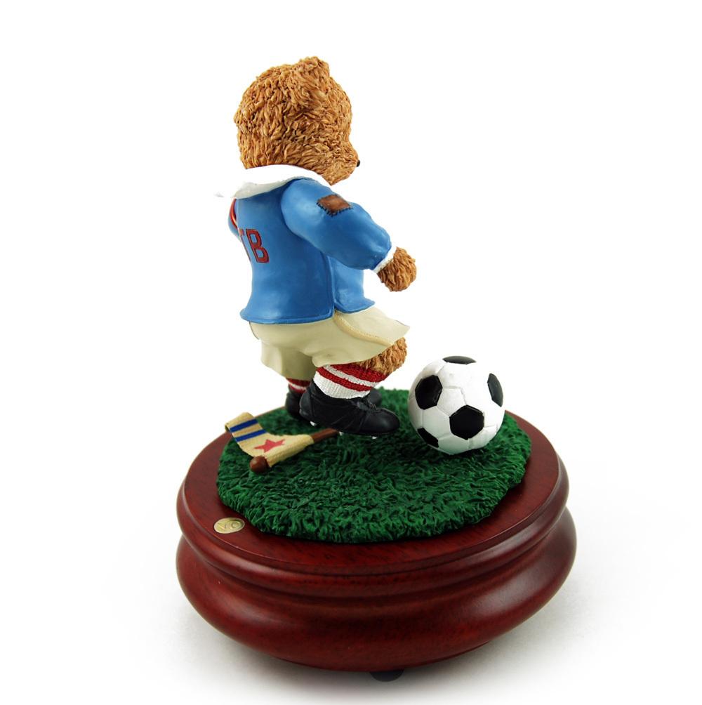 Thread Bears - World Cup Soccer Threadbear Musical Figurine