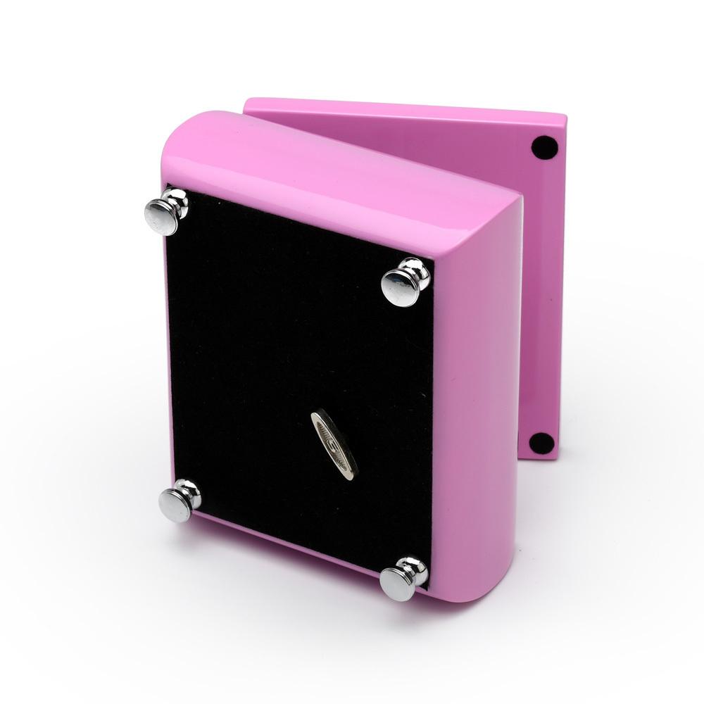 Adorable High Gloss 18 Note Pink Musical Jewelry Box Girls Keepsake