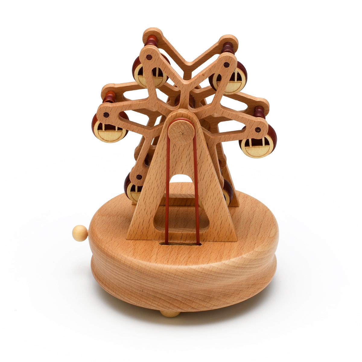 Animated 18 Note Musical Wooden Ferris-Wheel Keepsake