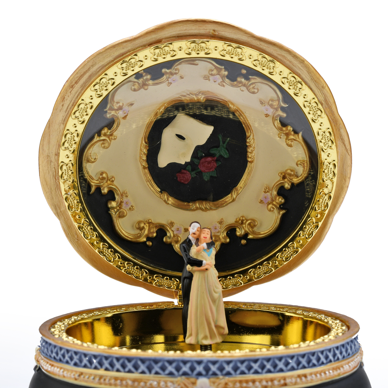 Phantom and Christine 18 Note Musical Trinket Box Collectible