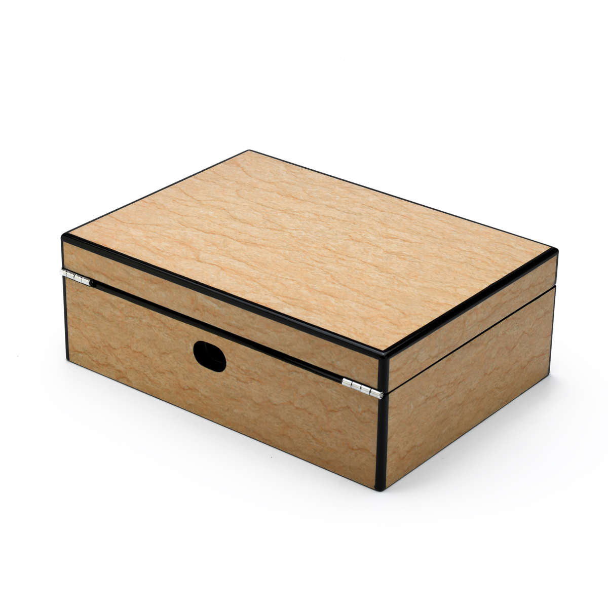 Hi-Gloss 18 Note Sand Finish Elements Collection Musical Valet Box w Charger Option