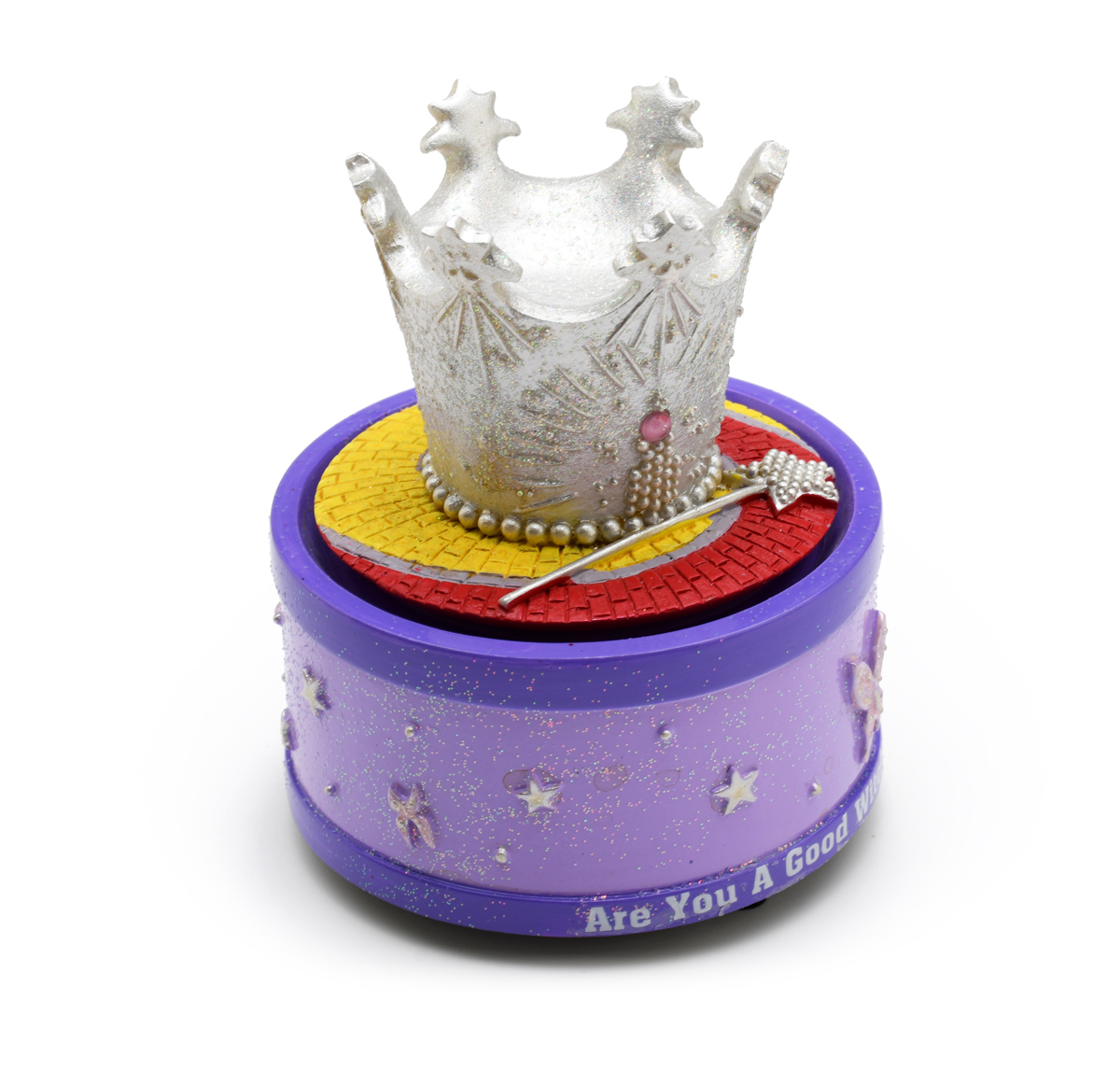 The San Francisco Music Box Company Wizard of Oz Crown Rotating Mini Figurine