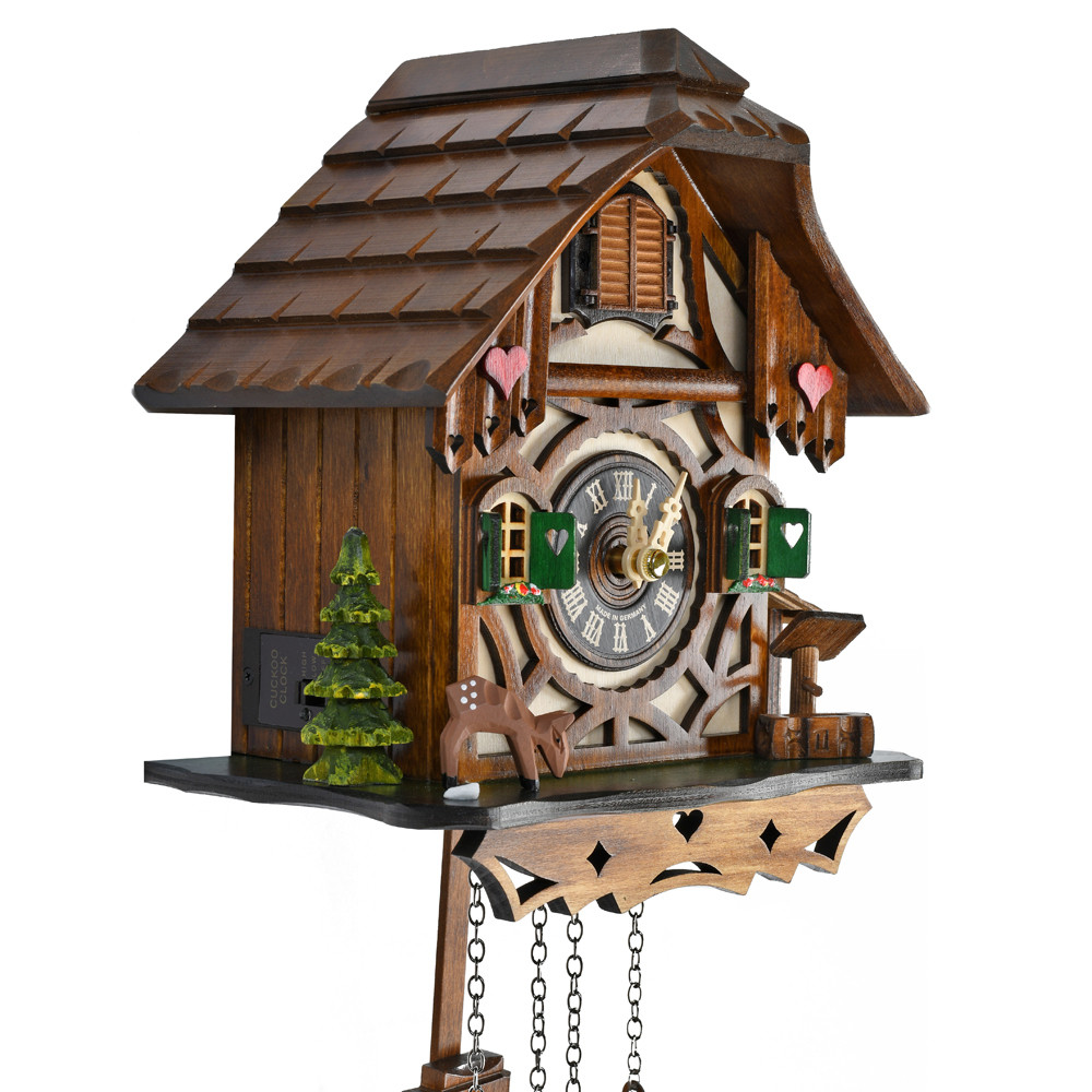 Black Forest Danish Style Chalet Quartz Cuckoo Clock