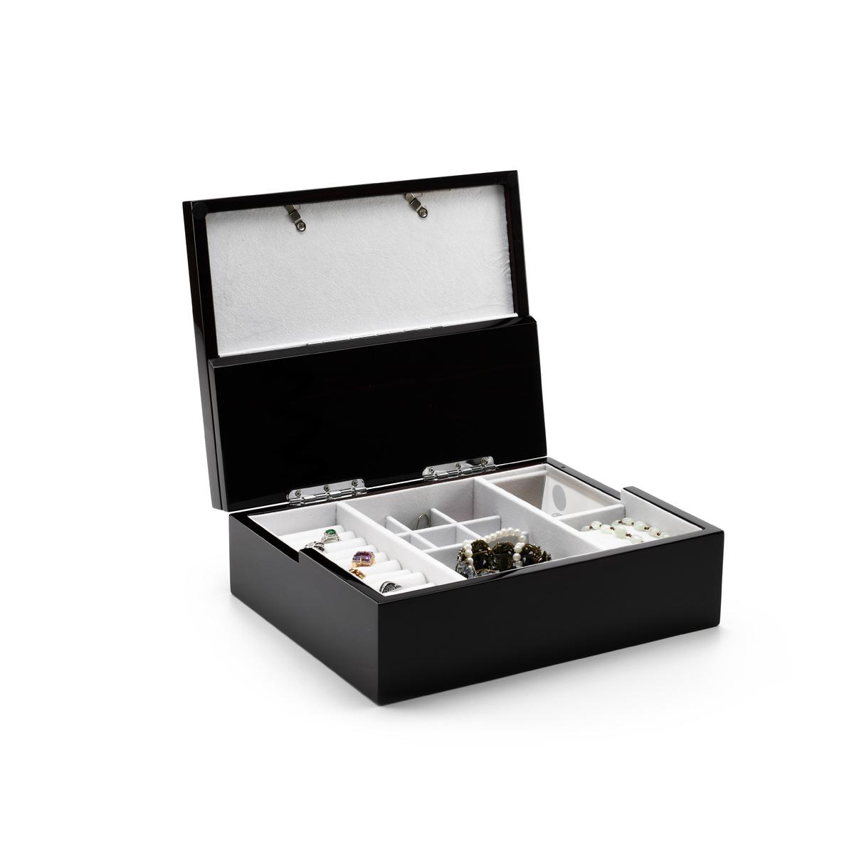Ultra-Modern 10 x 8 22 Note Spacious Photo Frame Musical Jewelry Box