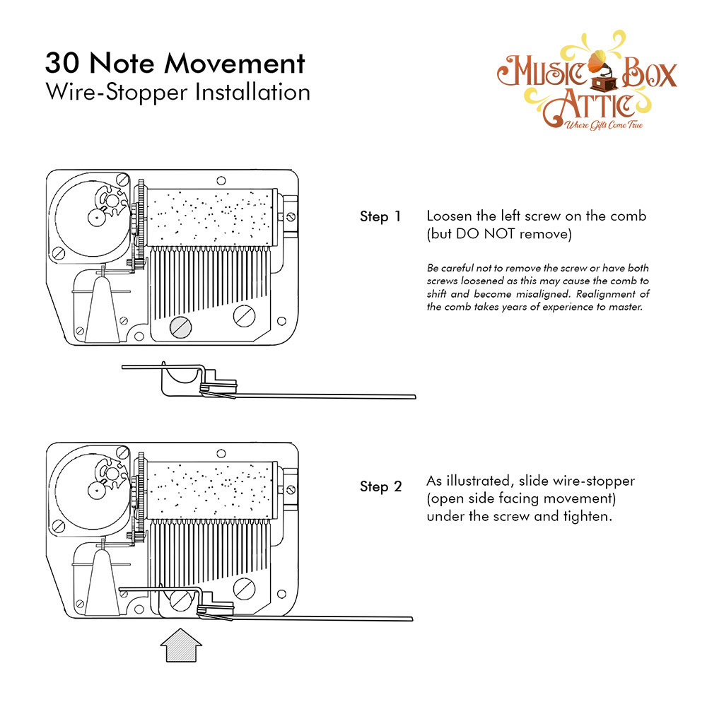 23 Note Mechanical Movement