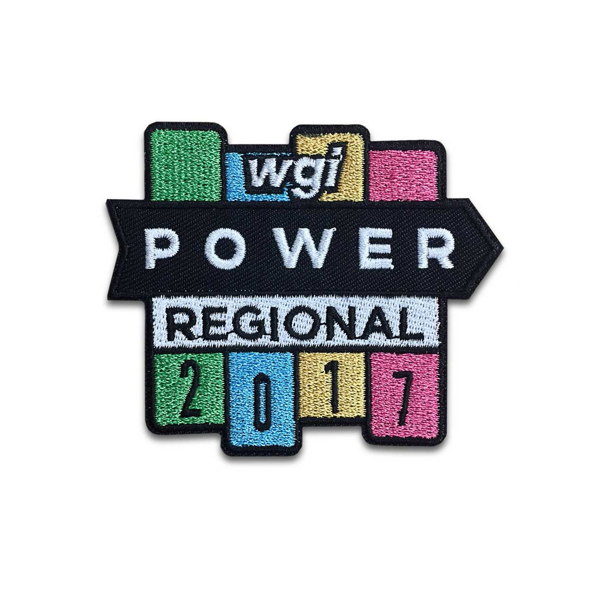 2017 WGI Power Regional Championship Patch